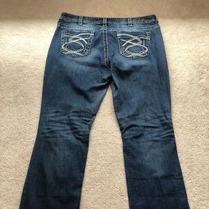 Silver Jeans size 18